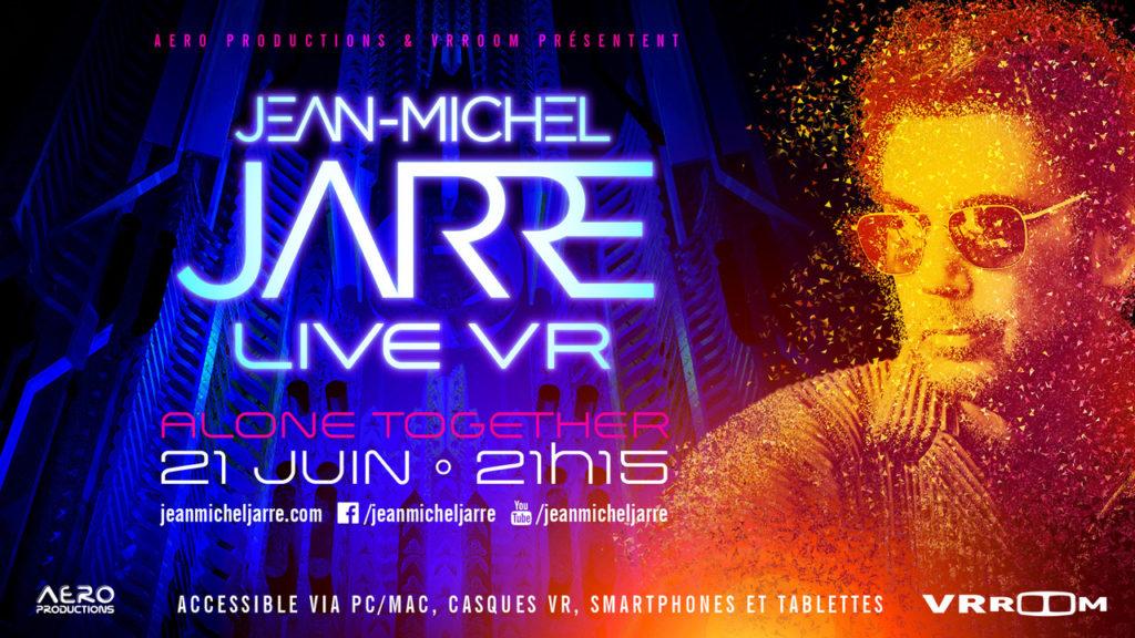 En concert virtuel pour la fête de la musique — Jean-Michel Jarre