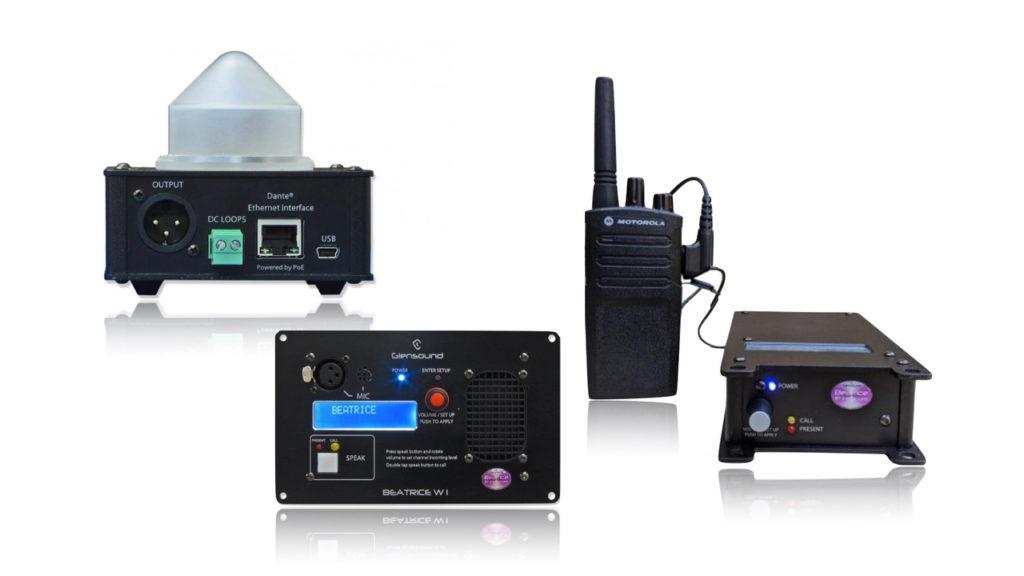 Trois nouveaux produits d'intercom BEATRICE chez Glensound ! © DR
