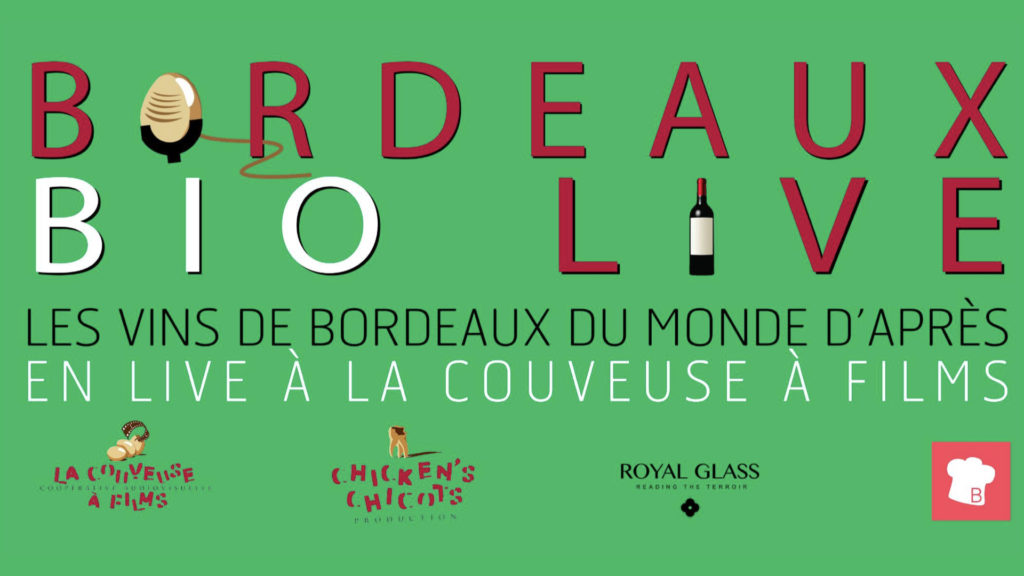 Premier Bordeaux Bio Live, l'événement vinicole digital qui donne soif ! © DR