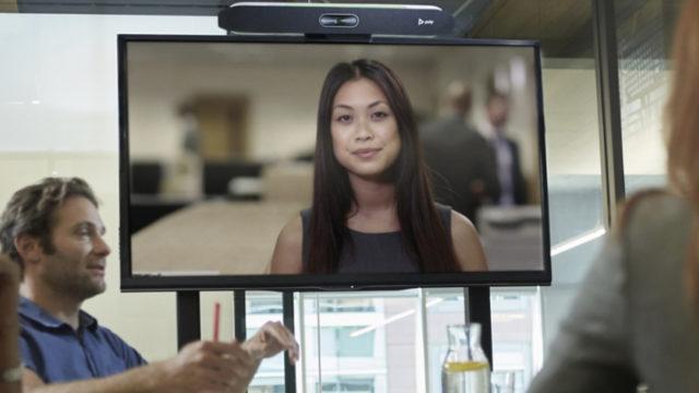 Zoom sur la gamme Poly Studio X et le Poly G7500, les seules solutions compatibles Zoom Rooms © DR