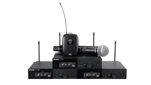 Un système numérique sans fil conçu pour les professionnels du son signé Shure © DR