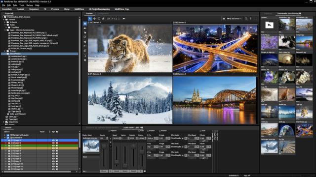 Christie lance la version 6.5 du logiciel Pandoras Box pour une meilleure qualité d'image © DR