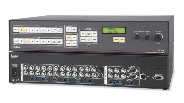 L'ISS 608 Extron, parfait pour les déploiements video exigeants ! © DR