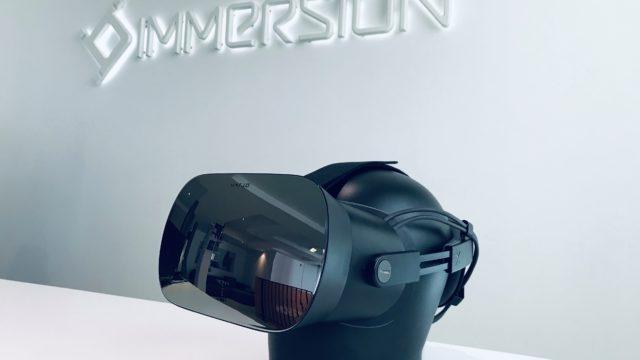 Immersion devient fournisseur exclusif de matériel VR et AR de la SNCF © DR