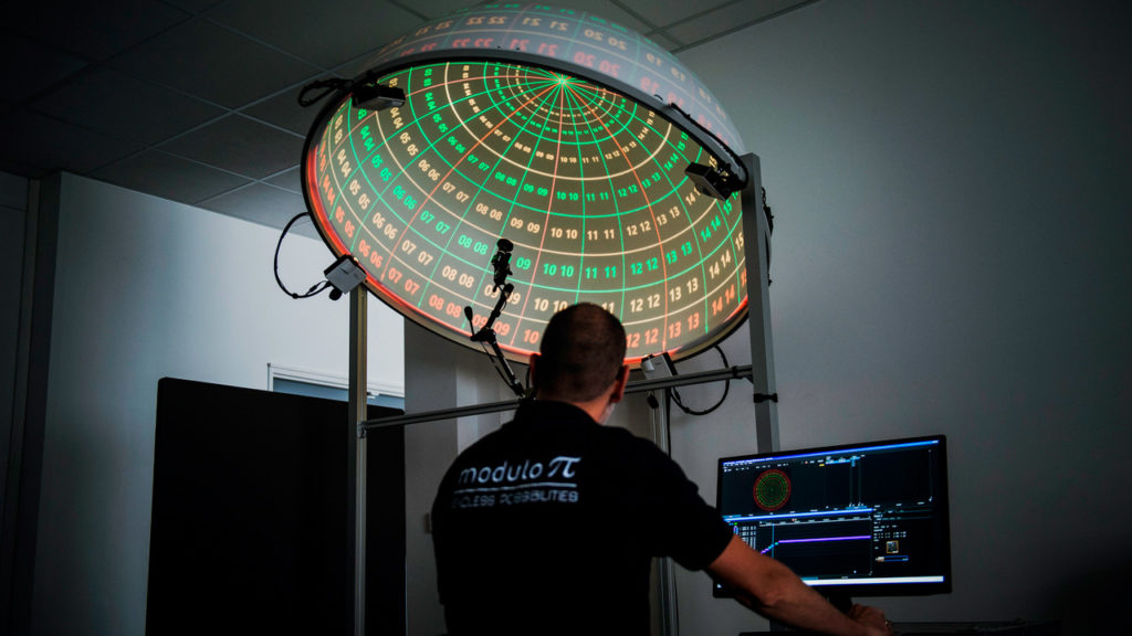 Un nouveau module pour la calibration automatique de vidéo-projecteurs chez Modulo-Pi © DR