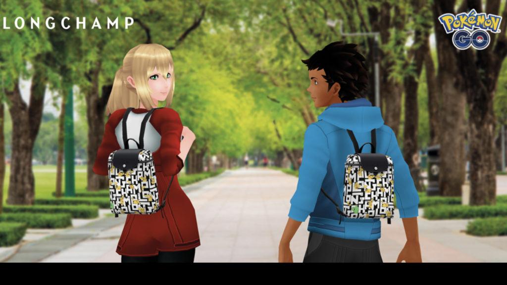 RA : Niantic et The Pokémon Company font équipe avec Longchamp Paris ! © DR