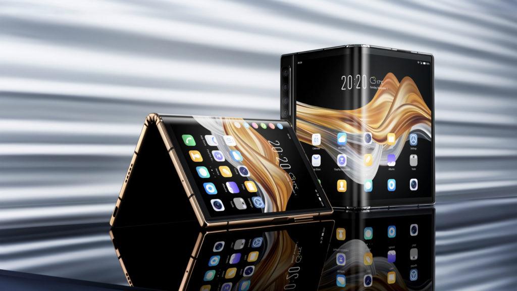 Tech Flex : Royole présente son nouveau smartphone pliable FlexPai 2 © DR