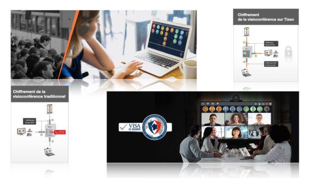 Vidéo-collaboration : Tixeo, seule solution chiffrée de bout en bout reconnue par l'ANSSI © DR