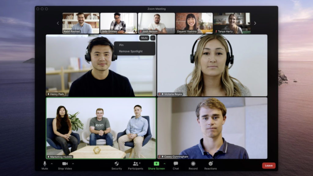 Zoom facilite son offre de vidéoconférences © DR
