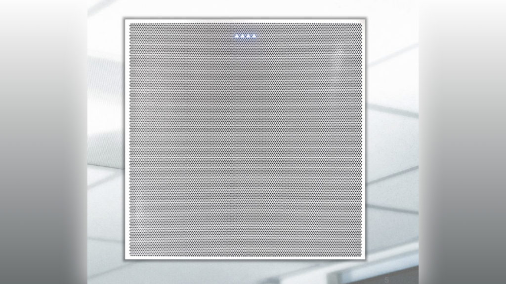 Qualité audio d'exception avec la nouvelle dalle de plafond Clearone BMA-360 pour la visio conférence © DR