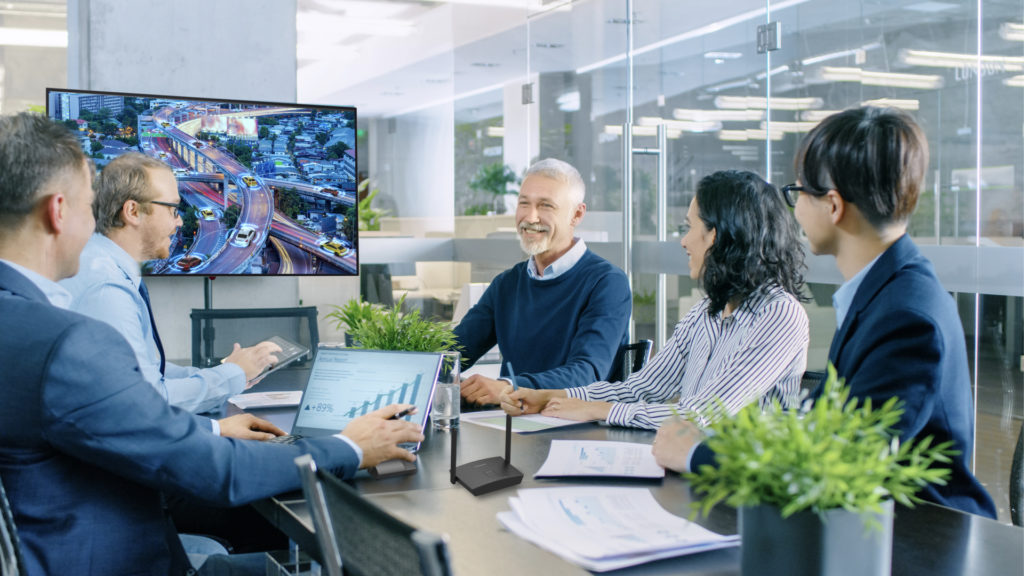 CQE1 : idéale pour le retail, les salles de classe et de réunion © DR