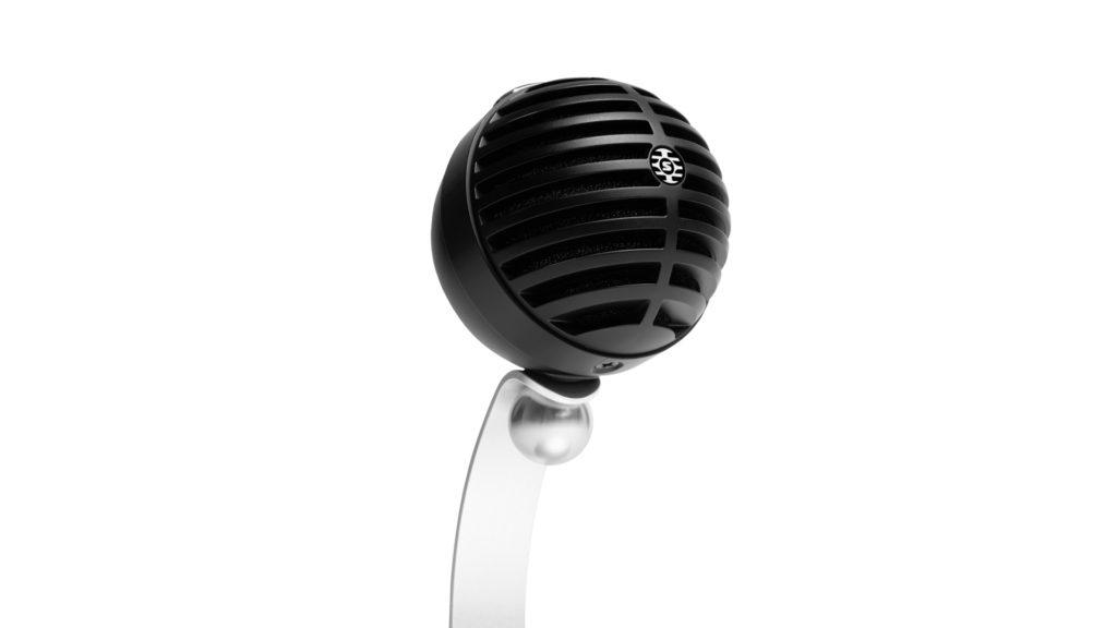 MV5C, le microphone Shure parfait pour une visioconférence en télétravail © DR