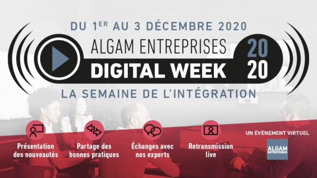 Intégration AV : Algam organise une Digital Week © DR