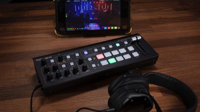 Roland présente le mélangeur HD V-1HD+ et l'UVC-01 Video Capture © DR