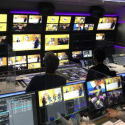 AMP Visual TV accompagne la SATIS TV © DR
