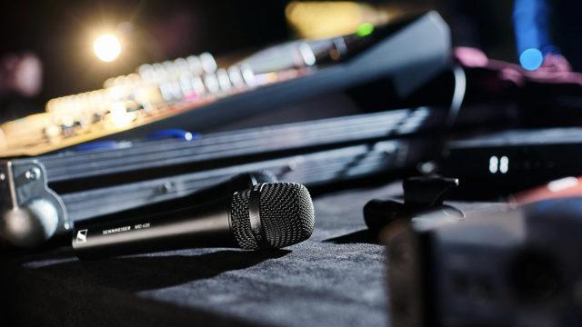 Sennheiser dévoile deux nouveaux microphones vocaux, ici le MD 435 © DR