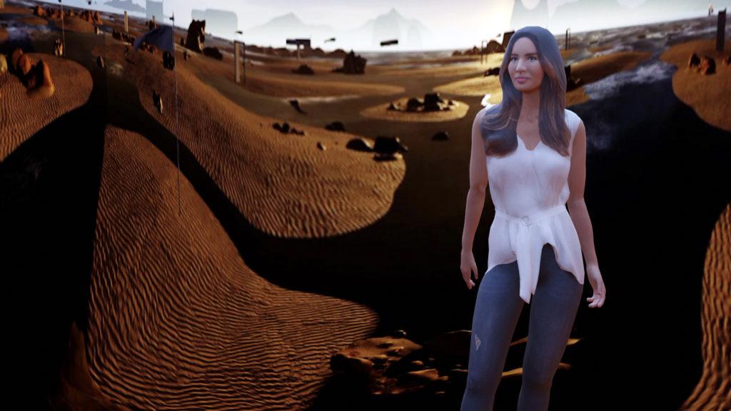 Recursive signe une expérience immersive 3D temps réel dans une boutique de luxe © Recursive Digital et Ezra Miller