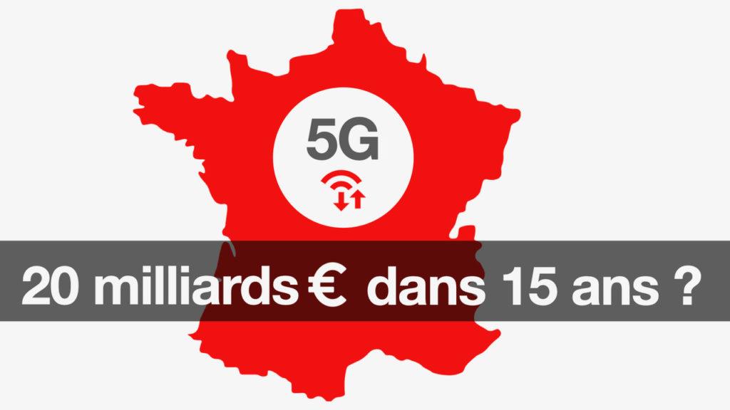 5G : un bénéfice potentiel de 20 milliards d'euros en France sur 15 ans © DR