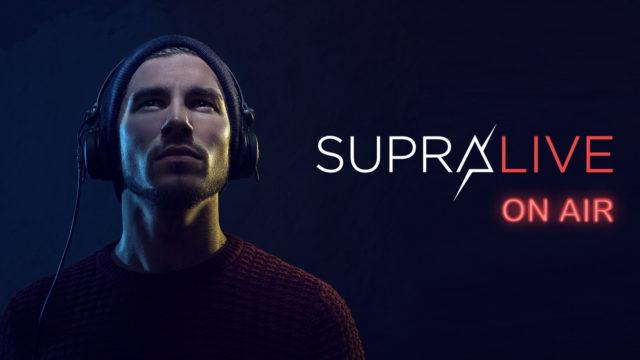 Du live stream en multipiste fixé aux oreilles avec SupraLive On Air © DR