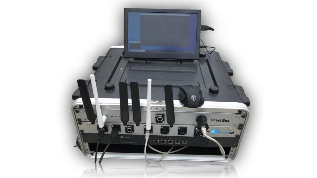 Numerisat présente l'OFAST Box dédiée à l'événementiel © DR