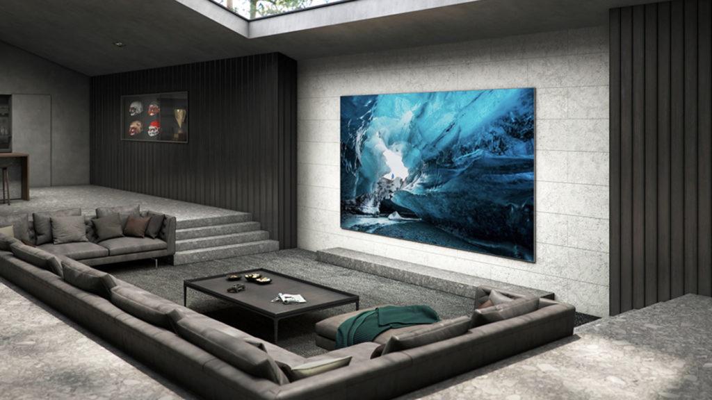 Place au MicroLED : Samsung ouvre une nouvelle ère en termes de qualité d'image et de design © DR