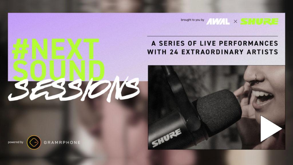 Shure et Awal s'associent pour une série de concerts en streaming © DR