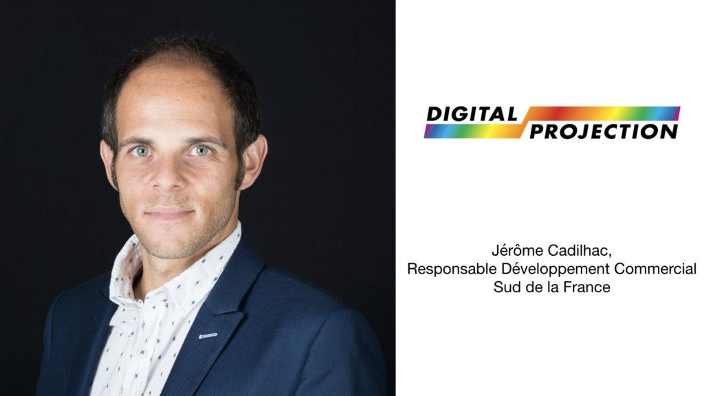 Digital Projection accueille Jérôme Cadilhac © DR