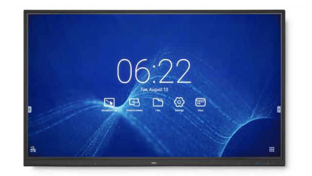 NEC propose trois nouvelles déclinaisons haut de gamme pour les écrans UHD MultiSync de la série CB © DR