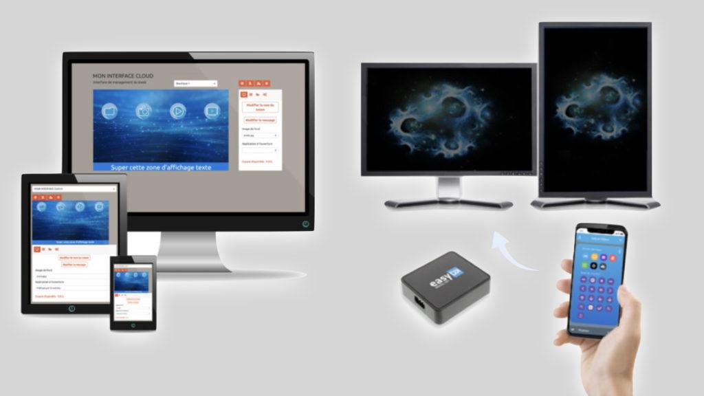 EasyDK, une nouvelle solution d'affichage dynamique qui va vous poursuivre !