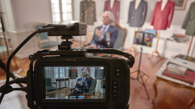 Un workflow Blackmagic Design pour la chaîne YouTube Sartorial Talks © DR