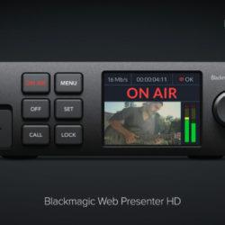 Streaming de qualité broadcast : le Web Presenter HD simplifie la vie ! © DR