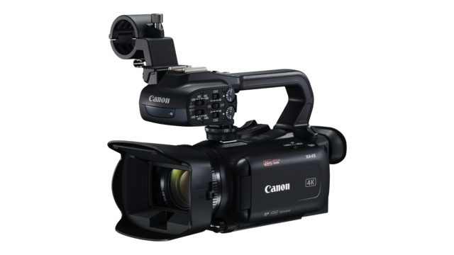 Le caméscope Canon XA45 compact 4K aux capacités d'enregistrement professionnelles arrive en Europe © DR