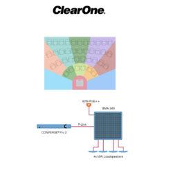 La dalle BMA 360 de ClearOne, parfaite pour visio-conférence et sonorisation, se voit doter de nouvelles options © DR