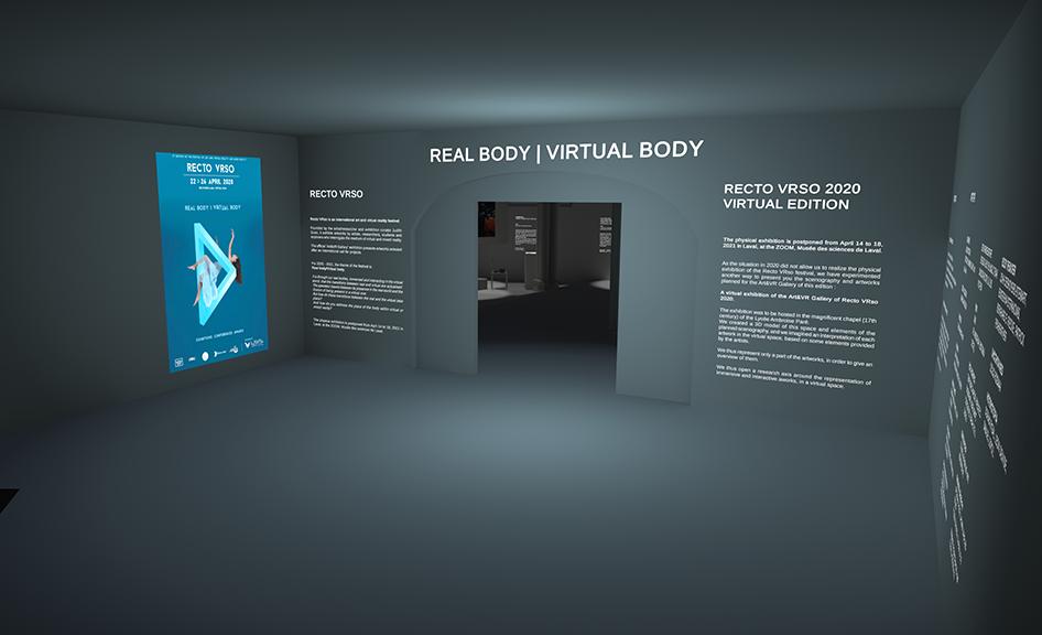 Laval Virtual World : une 4e édition hybride pour le festival international d'art numérique Recto VRso © DR
