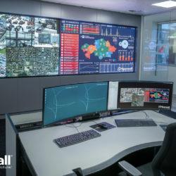 Salles de contrôle : Sharp NEC Display Solutions et Hiperwall à nouveau partenaires pour la version 7.0 du logiciel Hiperwall © DR