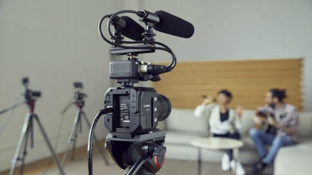 Le Panasonic LUMIX BGH1, allié des tournages live premium © DR