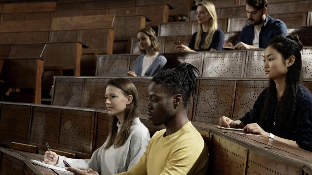 TruVoicelift garantit une grande clarté audio dans la salle, en entreprise comme dans l'enseignement supérieur © DR