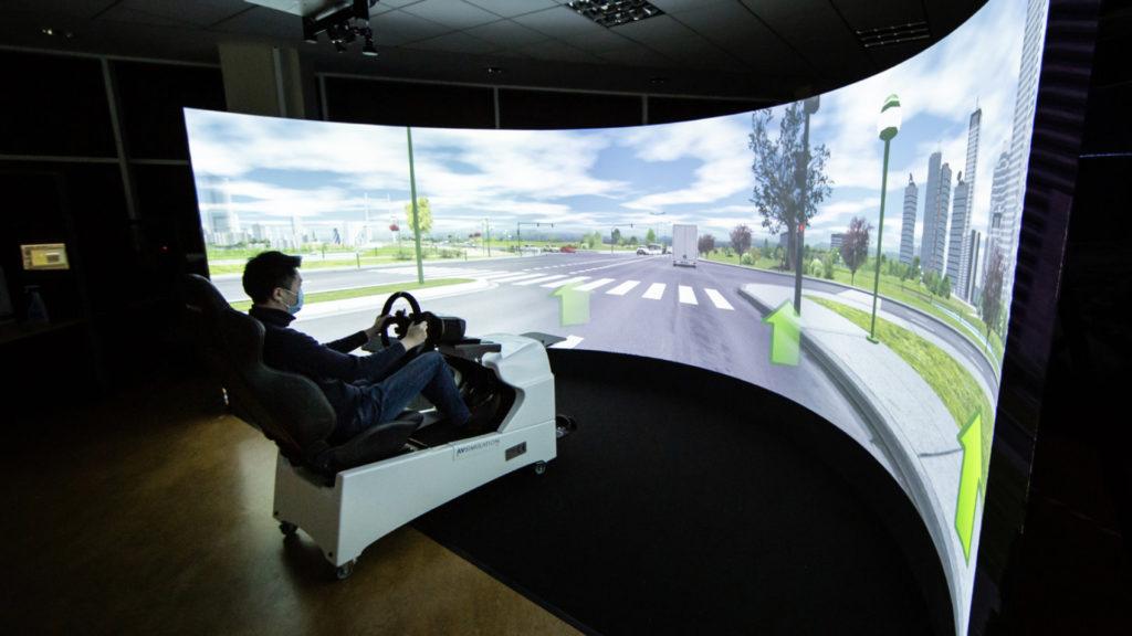 Simulation : quand ST Engineering Antycip facilite la conduite autonome © IROHMS