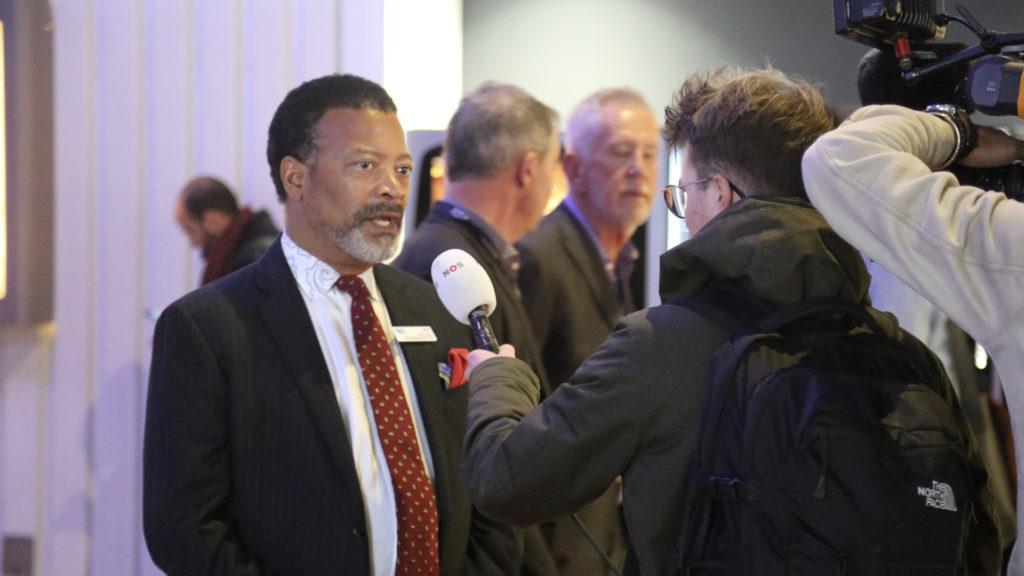 Mike Blackman, directeur général d'Integrated Systems Events © Stephan Faudeux
