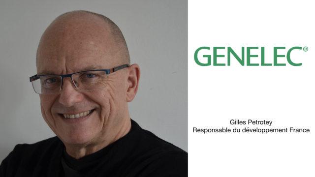 Gilles Petrotey et Audio-Technica France s'allient pour représenter Genelec © DR