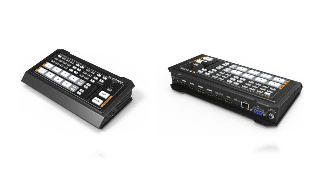 Un mixeur vidéo live et streaming chez AVMatrix © DR