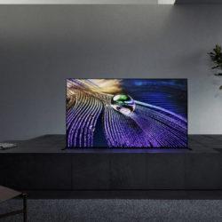 Sony présente le très attendu BRAVIA XR A90J : le premier téléviseur à intelligence cognitive au monde © DR