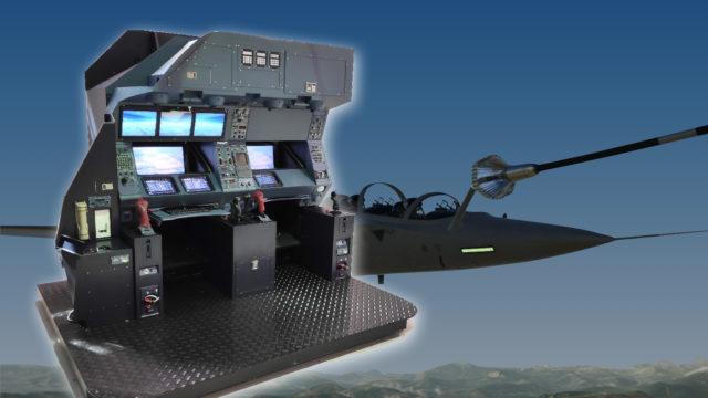 ST Engineering Antycip équipe le simulateur de ravitaillement en vol d'Airbus © DR