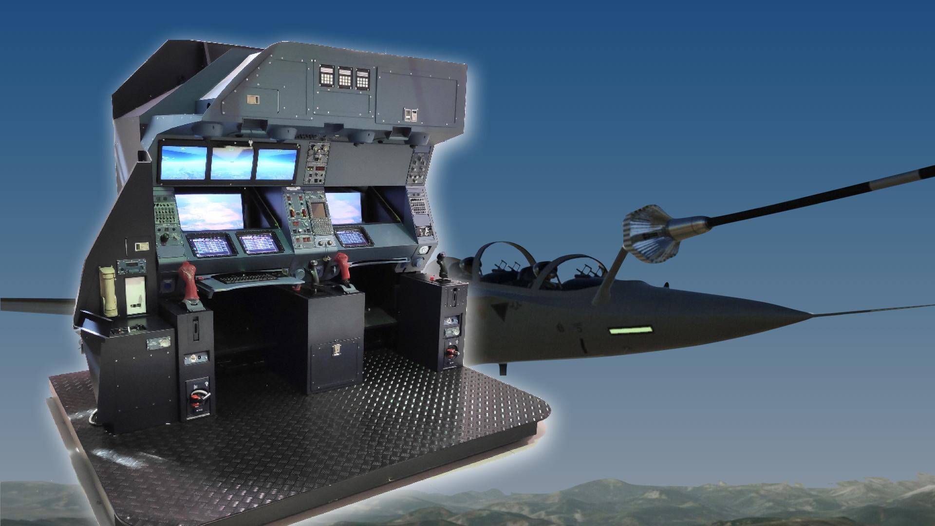 ST Engineering Antycip équipe le simulateur de ravitaillement en vol d'Airbus