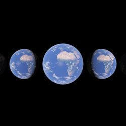 Google Earth intègre une dimension temporelle avec Timelapse © DR
