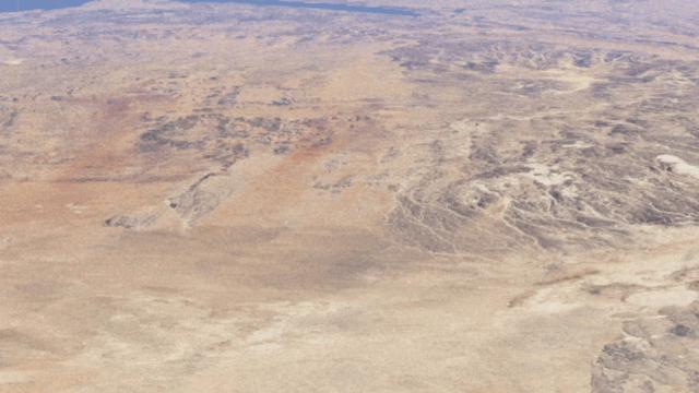 Observez l'agriculture prendre forme au milieu d'un désert à Al Jowf, Arabie Saoudite © Google Earth