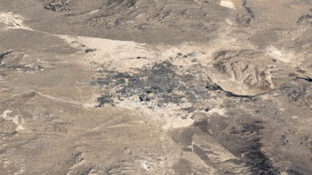 Suivez l'expansion de Las Vegas, Nevada © Google Earth