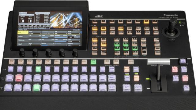 La production live 4K pour tous avec le mélangeur Panasonic AV-UHS500 © DR