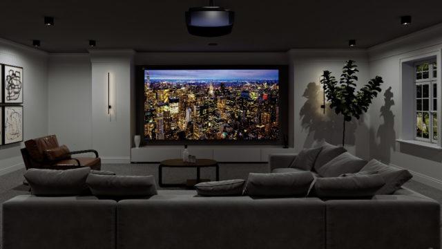 Deux nouveaux projecteurs Sony Home Cinéma 4K natifs © DR