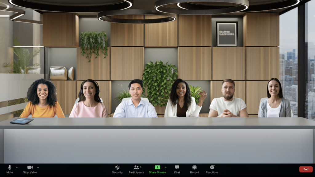 Zoom Immersive View ou l'expérience de réunion revisitée © DR
